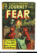 Golden Age (1938-1955):Horror, Journey Into Fear #14 (Superior, 1953) Condition: VG/FN. Here isanother great horror comic from this beautiful collection. ...