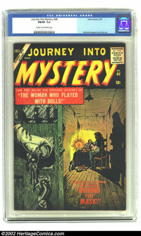 Journey into Mystery #48 (Marvel, 1957) CGC FN/VF 7.0 Cream to of-white pages. A beautiful looking copy of a pre-hero Ma...