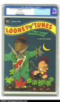 Golden Age (1938-1955):Funny Animal, Looney Tunes and Merrie Melodies Comics #131 (Dell, 1952) CGC VF8.0 Cream to off-white pages. Bugs foils Elmer yet again on...