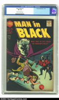 Silver Age (1956-1969):Horror, Man in Black #2 (Harvey, 1957) CGC FN- 5.5 Cream to off-whitepages. Bob Powell cover and art. Overstreet 2002 FN 6.0 value ...
