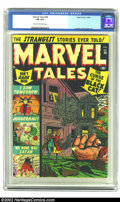 Golden Age (1938-1955):Horror, Marvel Tales #98 (Marvel, 1950) CGC FN 6.0 Cream to off-white pages. Everett and Krigstein art. Overstreet 2002 FN 6.0 value...
