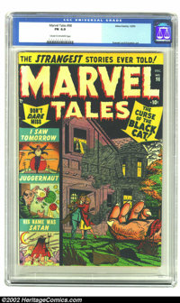 Marvel Tales #98 (Marvel, 1950) CGC FN 6.0 Cream to off-white pages. Everett and Krigstein art. Overstreet 2002 FN 6.0 v...