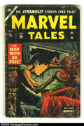Golden Age (1938-1955):Horror, Marvel Tales #115 (Marvel, 1953) Condition: GD-. Cool issue fromthis extremely difficult time period. Overstreet 2002 GD 2....