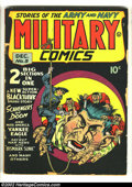 Golden Age (1938-1955):War, Military Comics #5 (Quality, 1941) Condition: GD. Very earlyappearance of Blackhawk. Chuck Cuidera is responsible for this ...