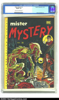 Golden Age (1938-1955):Horror, Mister Mystery #2 (Aragon Magazines, Inc., 1951) CGC FN/VF 7.0Light tan to off-white pages. Creepy monster cover by Andru a...