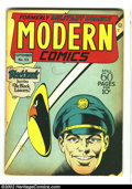 Golden Age (1938-1955):War, Modern Comics #53 (Quality, 1946) Condition: GD/VG. Torchy by BillWard begins with this issue. Classic Golden Age Quality f...