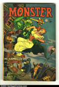 Golden Age (1938-1955):Horror, Monster #1 (Fiction House, 1953) Condition: GD/VG. Rarely seenbook. Whitman cover. Overstreet 2002 GD 2.0 value = $50; FN 6...