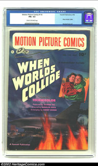 Motion Picture Comics #110 (Fawcett, 1952) CGC FN+ 6.5 Cream to off-white pages. This issue features the Paramount Pictu...