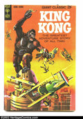 Silver Age (1956-1969):Adventure, Movie Classics King Kong (Dell, 1968) Condition: VF. 68 page giant, painted cover. Overstreet 2002 VF 8.0 value = $26....