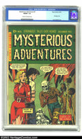 Golden Age (1938-1955):Horror, Mysterious Adventures #5 (Story Comics, 1951) CGC FN/VF 7.0 Creamto off-white pages. Bondage cover; Lou Cameron art. Overst...
