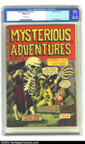 Golden Age (1938-1955):Horror, Mysterious Adventures #6 (Story Comics, 1952) CGC FN/VF 7.0Off-white pages. Artist in this issue include H. C. Hollingswort...