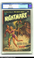 Golden Age (1938-1955):Horror, Nightmare #2 (Ziff-Davis, 1952) CGC FN+ 6.5 Cream to Off-whitepages. This issue contains Bill Everett, Raymond and Kinstler...