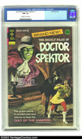 Bronze Age (1970-1979):Horror, Occult Files of Doctor Spektor #1 (Gold Key, 1973) CGC NM- 9.2Off-white to White pages. Introduction of Doctor Adam Spektor...