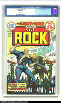 Bronze Age (1970-1979):War, Our Army At War #273 (DC, 1974) CGC NM- 9.2 White pages. Kubert cover, Russ Heath art. Overstreet 2002 NM 9.4 value = $12. ...