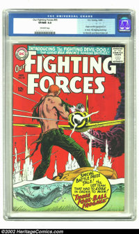 Our Fighting Forces #95 (DC, 1965) CGC VF/NM 9.0 Off-white pages. Irv Novick and Gene Colan provide interior art for thi...