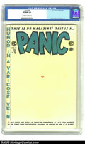 Golden Age (1938-1955):Humor, Panic #6 (EC, 1955) CGC VF/NM 9.0 Off-white to white pages. Davis, Elder and Orlando art. Overstreet 2002 NM 9.4 value = $11...