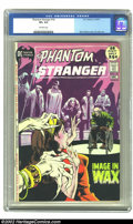 Bronze Age (1970-1979):Horror, Phantom Stranger #16 (DC, 1971) CGC VF+ 8.5 Off-white pages. Nice25 cent giant. Overstreet 2002 VF 8.0 value = $20; NM 9.4 ...