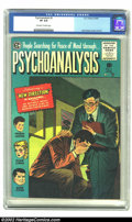 Golden Age (1938-1955):Adventure, Psychoanalysis #2 (EC, 1955) CGC VF 8.0 Off-white to White pages. Jack Kamen continues his look into the troubled minds of F...