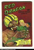 Golden Age (1938-1955):Adventure, Red Dragon Comics #1 (Street & Smith, 1947) Condition: VG-. Now here is a book that you just do not see everyday. Bold and r...
