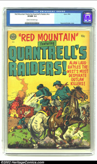 Red Mountain Featuring Quantrell's Raiders #nn (Avon, 1952) CGC VF/NM 9.0 Cream to off-white pages. Alan Ladd, Raymond K...