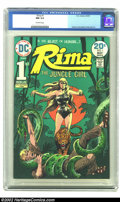 Bronze Age (1970-1979):Miscellaneous, Rima the Jungle Girl #1 (DC, 1974) CGC NM 9.4 Off-white pages. Thisissue features a fantastic Rima cover. Overstreet 2002 N...
