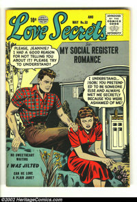 Romance Comics Group various (Quality, 1949) Condition: averages FN+. Beautiful set of three Quality romance comics that...