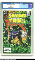 Modern Age (1980-Present):Horror, Saga of the Swamp Thing #23 (DC, 1984) CGC NM+ 9.6 White pages.This issue contains a story by Alan Moore. Overstreet 2002 N...