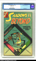 Silver Age (1956-1969):Horror, Shadows From Beyond #50 (Charlton, 1966) CGC FN/VF 7.0 Cream tooff-white pages. Ditko cover, only issue. Overstreet 2002 FN...