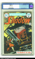 Bronze Age (1970-1979):Miscellaneous, The Shadow #3 (DC, 1974) CGC NM+ 9.6 Off-white to white pages.Kaluta and Wrightson art. Partial grey tone cover. Overstreet...