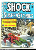 Golden Age (1938-1955):Horror, Shock SuspenStories #3 (EC, 1952) Condition: VG+. FantasticPre-Code EC with fantastic artwork and stories. Overstreet 2002 ...