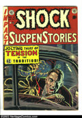 Golden Age (1938-1955):Horror, Shock SuspenStories #4 (EC, 1952) Condition: VG/FN. Used in SOTI.Fantastic Pre-Code EC with fantastic artwork and stories. ...