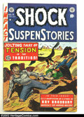 Golden Age (1938-1955):Horror, Shock SuspenStories #9 (EC, 1953) Condition: VG/FN. Injury to eyepanel. Fantastic Pre-Code EC with fantastic artwork and st...