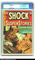 Golden Age (1938-1955):Horror, Shock SuspenStories #12 Gaines File pedigree Certificate Missing(EC, 1953) VF/NM 9.0 White pages. Classic Al Feldstein anti...