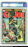 Silver Age (1956-1969):War, Showcase #54 (DC, 1965) CGC VF- 7.5 Off-white pages. Joe Kubert provides a terrific war cover as well as interior art and Ru...