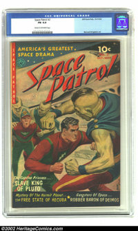Space Patrol #2 (Ziff-Davis, 1952) CGC FN 6.0 Cream to off-white pages. Krigstein did three stories in this issue. Overs...