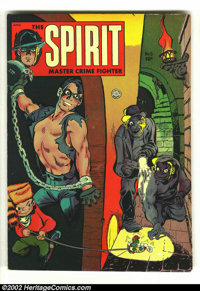 The Spirit #5 (Fiction House, 1954) Condition: FN-. These Fiction House issues are rather difficult to find and here is...