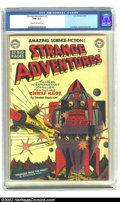 Golden Age (1938-1955):Science Fiction, Strange Adventures #3 (DC, 1950) CGC FN- 5.5 Cream to off-white pages. Curt Swan and Dan Barry contributed artwork to this i...