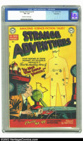 Golden Age (1938-1955):Horror, Strange Adventures #5 Bethlehem pedigree (DC, 1951) CGC VF+ 8.5Off-white to white pages. DC' tandem of Strange Adventures a...