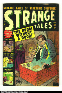 """Strange Tales #5 (Marvel 1952) Condition: VG. """"The Room Without a Door!"""" and other wild pre-code horror storie..."""