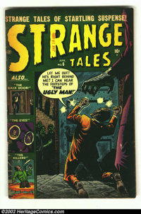Strange Tales #6 (Marvel, 1952) Condition: GD/VG. Fantastic Russ Heath cover on this classic Atlas. Overstreet 2002 GD 2...