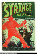 Golden Age (1938-1955):Horror, Strange Tales #26 (Atlas, 1954) Condition: GD+. Here is anothergreat horror comic from this beautiful collection. Overstree...