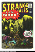 Silver Age (1956-1969):Horror, Strange Tales #75 (Marvel, 1960) Condition: VG. Iron Man prototypeissue. Overstreet 2002 GD 2.0 value = $23; FN 6.0 value =...