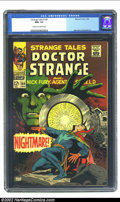 Silver Age (1956-1969):Horror, Strange Tales #164 (Marvel, 1968) CGC NM- 9.2 Cream to off-whitepages. Steranko and Everett art. Overstreet 2002 NM 9.4 val...