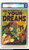 Golden Age (1938-1955):Horror, Strange World of Your Dreams #2 (Prize, 1952) CGC VF- 7.5 Cream tooff-white pages. Cool Joe Simon and Jack Kirby cover. Fro...