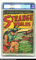 Golden Age (1938-1955):Science Fiction, Strange Worlds #9 (Avon, 1952) CGC FN+ 6.5 Cream to off-whitepages. Kinstler, Fawcette, Alascia cover art. Overstreet 2002 ...