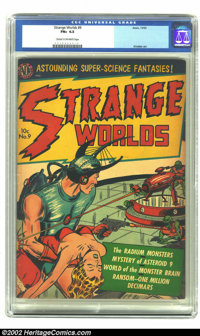 Strange Worlds #9 (Avon, 1952) CGC FN+ 6.5 Cream to off-white pages. Kinstler, Fawcette, Alascia cover art. Overstreet 2...