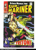 Silver Age (1956-1969):Superhero, The Sub-Mariner LOT #2, #3, 5-9 (Marvel, 1968) Condition: averages VG/FN. #7 is VF+. Cool group of Silver Age Marvels. Overs... (Total: 7 Comic Books Item)