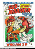 Silver Age (1956-1969):Superhero, The Sub-Mariner LOT (Marvel, 1968) Condition: averages VG+. This lot contains #50, 52-55, 57, 59, 60, 62, 64, 65, 68, 69, 72... (Total: 15 Comic Books Item)
