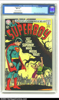 Silver Age (1956-1969):Superhero, Superboy #157 (DC, 1969) CGC NM 9.4 Cream to off-white pages. Neil Adams did the art chores on this cover. Overstreet 2002 N...