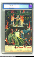 Golden Age (1938-1955):Superhero, Super-Magician Comics Vol. 3 #12 (Street & Smith, 1945) CGC VF 8.0 Cream to off-white pages. This is the only copy of this r...